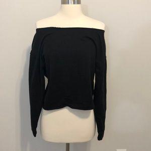 ASOS Cropped Top Size XS Black